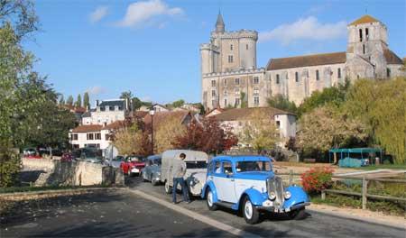 """""""Le 3ème Tour de roue des 3 vallées"""" (Vienne, Gartempe, Anglin.)"""