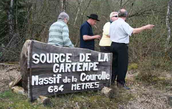 LA SOURCE DE LA GARTEMPE